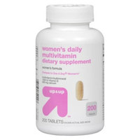 Up & Up up&up Women's Daily Multivitamin Tablets - 200 Count