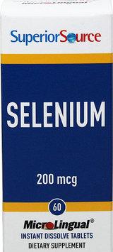 Superior Source - Selenium Instant Dissolve 200 mcg. - 60 Tablets
