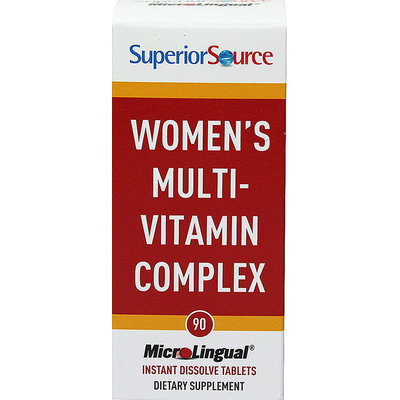 Superior Source - Women's Multi-Vitamin Complex Instant Dissolve - 90 Tablets