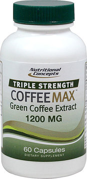 Nutritional Concepts Triple Strength CoffeeMax Green Coffee Extract - 1200 mg - 60 Capsules