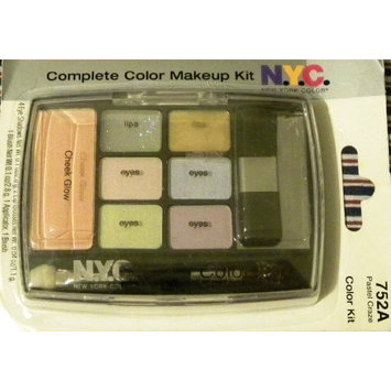 N.Y.C. NYC New York Color Complete Color Makeup Kit 752A Pastel Craze