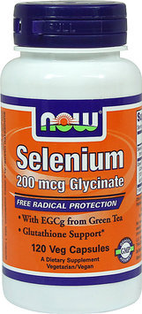 NOW Foods - Selenium Glycinate 200 mcg. - 120 Vegetarian Capsules