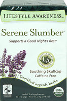 Lifestyle Awareness Organic Serene Slumber Tea-20 Bags