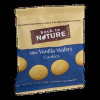 Back To Nature Mini Vanilla Wafers Cookies