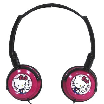 Hello Kitty Headphones (11609) - Pink/Black