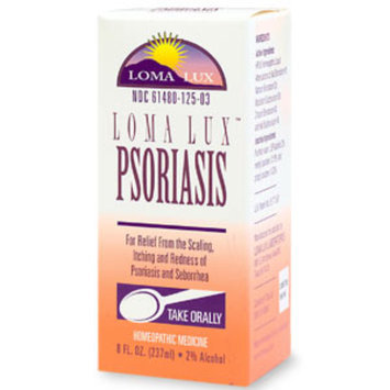 Loma Lux Homeopathic Psoriasis Relief Liquid