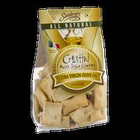 Sandamiri Crostini Rustic Style Crackers Extra Virgin Olive Oil