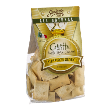 Sandamiri Crostini Rustic Style Crackers Extra Virgin Olive Oil