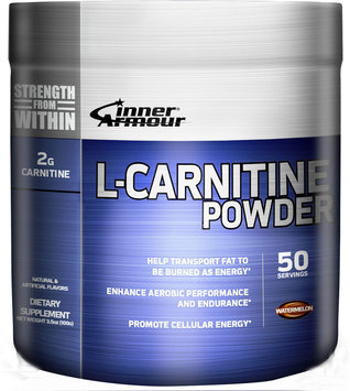 Inner Armour Blue L-Carnitine Powder Watermelon - 50 Servings