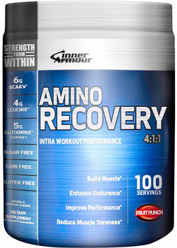 Inner Armour Blue - Amino Recovery 411 Fruit Punch - 1.4 lbs.