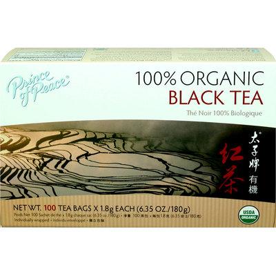 Prince Of Peace 100% Organic Black Tea-100 Bags