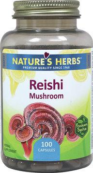 Nature's Herbs Reishi Mushroom - 100 Capsules