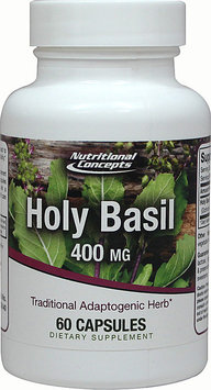 Nutritional Concepts Holy Basil 400 mg - 60 Capsules