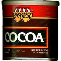 Paskesz Baking Products, Pure Cocoa, 8-Ounce Can (Pack of 6)
