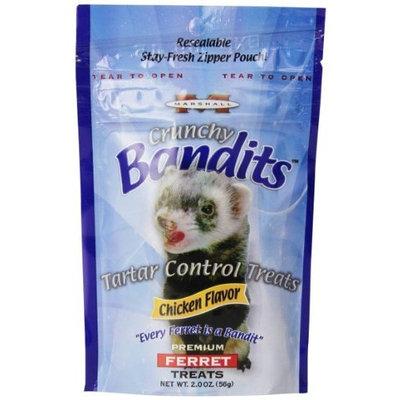 Marshall Pet Products Marshall Pet Bandit Treats, Tartar Control Chicken, 2-Ounce