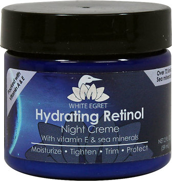 Hydrating Retinol Night Creme - White Egret INC - 2 oz - Cream