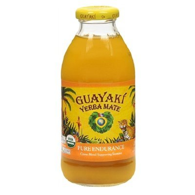 Guayaki Yerba Mate Drink Pure Endurance,12 Pack