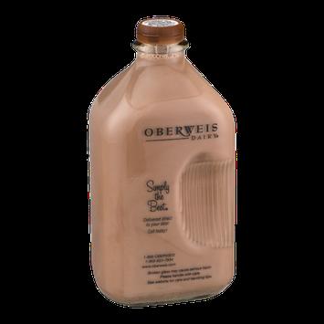Oberweis Dairy 2% Reduced Fat Milk Chocolate
