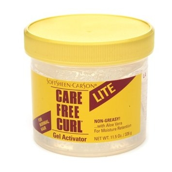 Care Free Curl Lite Gel Activator for Normal Hair