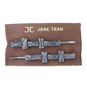 Jane Tran Hair Accessories Baguette Bead Bobby Pin Set