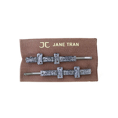 Jane Tran Hair Accessories Baguette Bead Bobby Pin Set