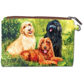 Labradoodle Zipper Pouch by Best Friends by Ruth Maystead