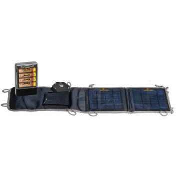 Sierra Wave Power Hub with Solar Collector Set