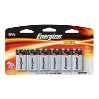 Energizer Batteries MAX Alkaline 9-Volt Battery (6-Pack) 522SBP6H
