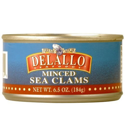 DeLallo Minced Sea Clams, 6.5-Ounce Unit (Pack of 6)