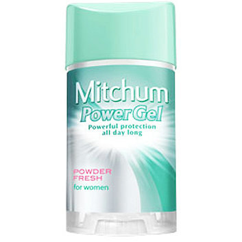 Mitchum Power Gel Anti-Perspirant & Deodorant Powder Fresh for Women