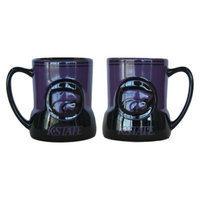 NCAA Kansas State Wildcats Boelter Brands 2 Pack Game Time Coffee Mug -