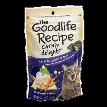 The Goodlife Recipe Catnip Delights Treats for Cats
