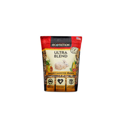 eCOTRITION Ultra Blend Rabbit Food, 4 lbs. ()