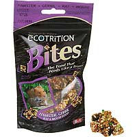 8 in 1 eCOTRITION Bites Hamster, Gerbil, Rat & Mouse Food (2.5 oz.)