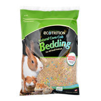 Ecotrition Natural Corn Cob with Nature's Miracle Small Animal Bedding, 23 liters ()