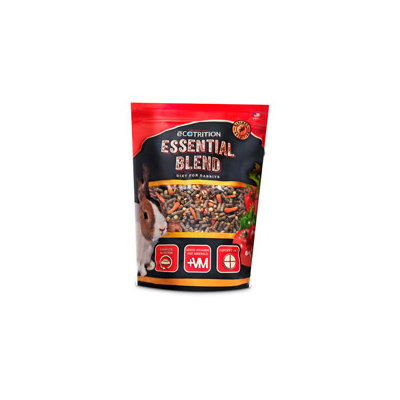 eCOTRITION Essential Blend Rabbit Food, 4 lbs. ()