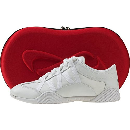 Nfinity Adult Evolution Cheer Shoes [White, 7]