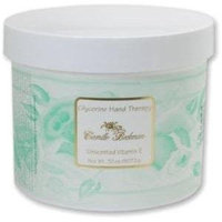 Camille Beckman Glycerine Hand Therapy, 4 Ounce Jar, Unscented Vitamin E