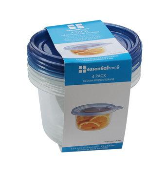 Shye U.s.a. Essential Home 4PK Round Medium Storage