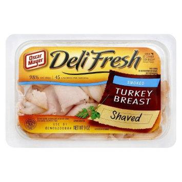 Oscar Mayer Deli Fresh Shaved Smoked Turkey Breast 9 oz