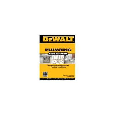 Cengage Learning 978-1-1111359-4- DeWalt Plumbing Code 2Nd Ed - Each
