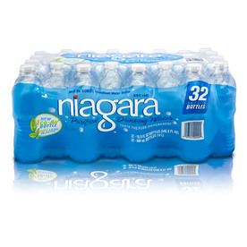 Niagara 32-Pack 16.9-fl oz Purified Water
