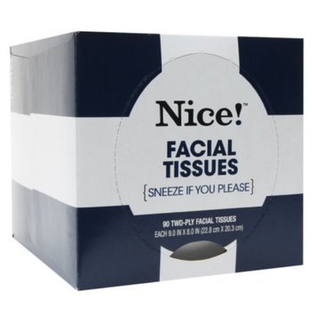 Nice! Facial Tissue, 90 Sheet, 1 ea