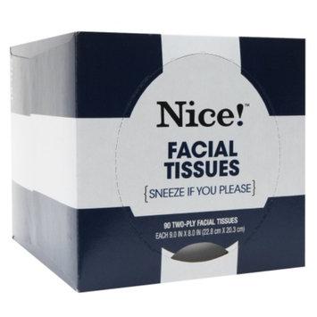 Nice! Facial Tissue, 90 Sheet, 1 ea