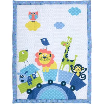 Baby Boom - Mix 'N Match Train Print Crib Bedding Comforter