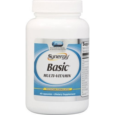 Nutraceutical Sciences Institute  NSI NSI Synergy Basic Multi-Vitamin -- 60 Capsules