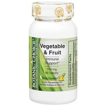 Botanic Choice Vegetable & Fruit Immune Support 750 mg