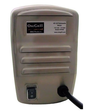 One Grill Stainless Steel Electric Rotisserie Motor