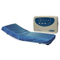 Mason Medical Masonair Alternating Pressure and Low Air Loss Mattress System, Blue, 84x36x8, 1 ea