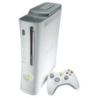 Microsoft White Xbox 360 Pro 20GB HDMI Video Game System Console Only